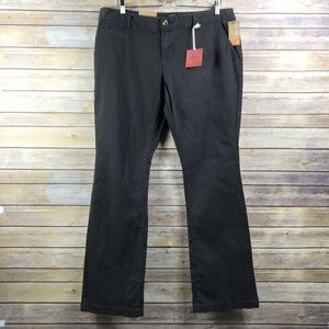 Mossimo Supply Co. Chino Bootcut Pants (Bin: NW1)